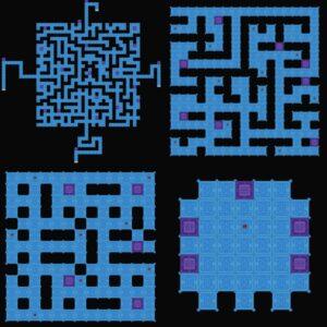 Rovine degli abissi-mappa