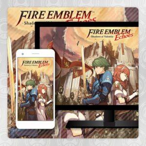 Sfondo premio Fire Emblem Echoes Shadows of Valentia