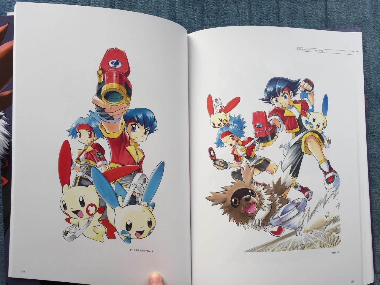 pokemon concept art book pdf