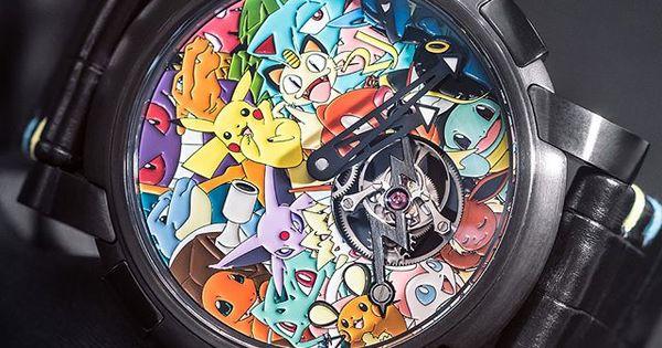 Tourbillon è l'orologio di lusso a tema Pokémon da 258 mila dollari