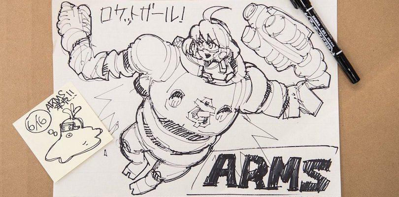 Pubblicati I Disegni Ufficiali Dei Personaggi Di Arms Pokemon