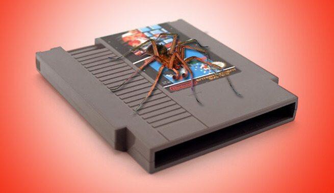 Ragni vivi contrabbandati dentro finte cartucce per NES