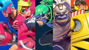 ARMS personaggi