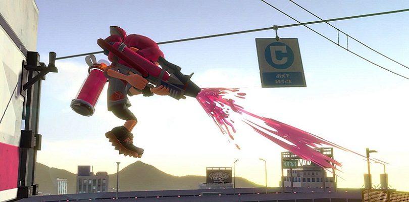 Svelata una nuova arma utilizzabile in Splatoon 2