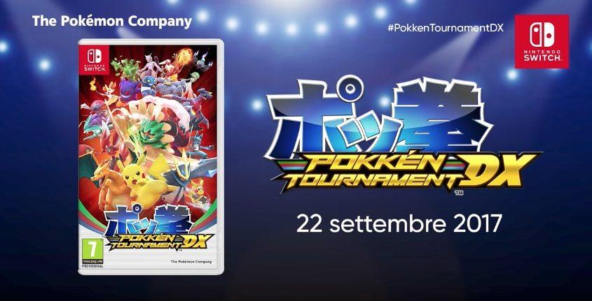 Annunciato Pokkén Tournament DX per Nintendo Switch: in uscita il 22 settembre 2017