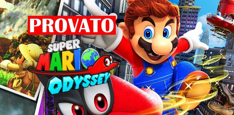 [REPORTAGE E3] Cydonia e Chiara provano Super Mario Odyssey