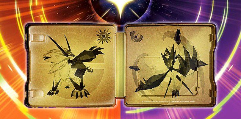 Annunciato lo Steelbook Dual Pack di Pokémon Ultrasole e Ultraluna