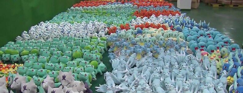 Sequestrato mezzo milione di peluche Pokémon contraffatti in Corea del Sud