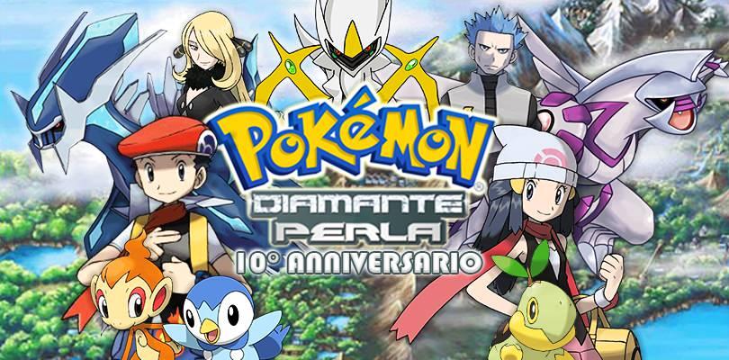Pokémon Diamante e Perla compiono 10 anni!