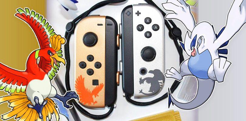 Ecco i bellissimi Joy-Con personalizzati per onorare Pokémon Oro e Argento