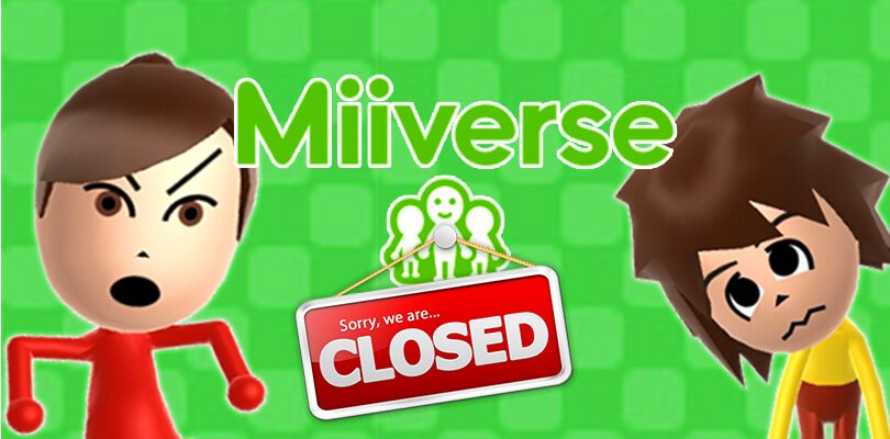 Annunciata ufficialmente la chiusura del servizio Miiverse