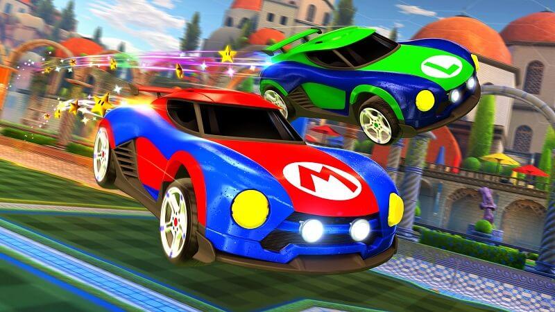 Rocket League: auto a tema Mario e Metroid per la versione Switch
