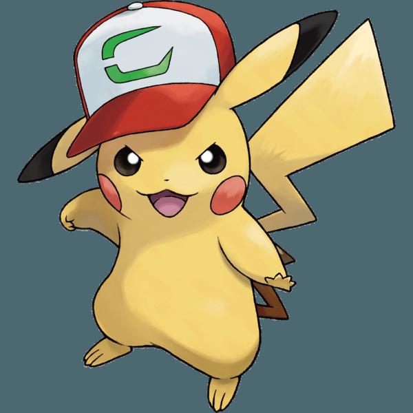 alta moda i più votati più recenti più foto Ecco il codice seriale per Pikachu con il berretto di Ash su ...