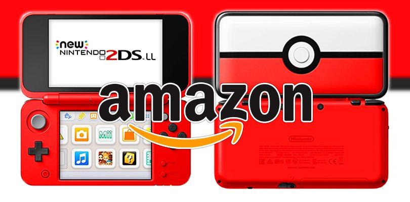 Il New Nintendo 2DS XL Poké Ball - Limited Edition è ora prenotabile su Amazon