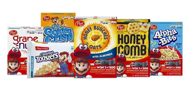 In America si fa colazione con latte, cereali e... Nintendo Switch