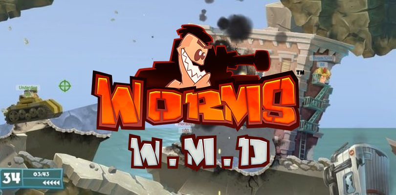 Worms W.M.D. arriverà su Nintendo Switch entro la fine dell'anno