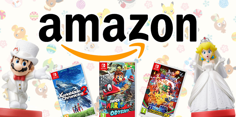 Super Mario Odyssey, Pokkén Tournament DX, amiibo e molto altro in offerta su Amazon