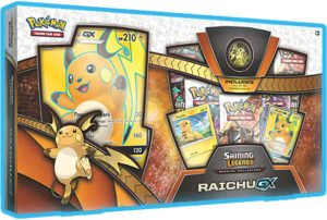 collezione speciale raichu-gx