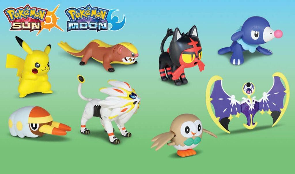statuette Pokémon mcdonald's