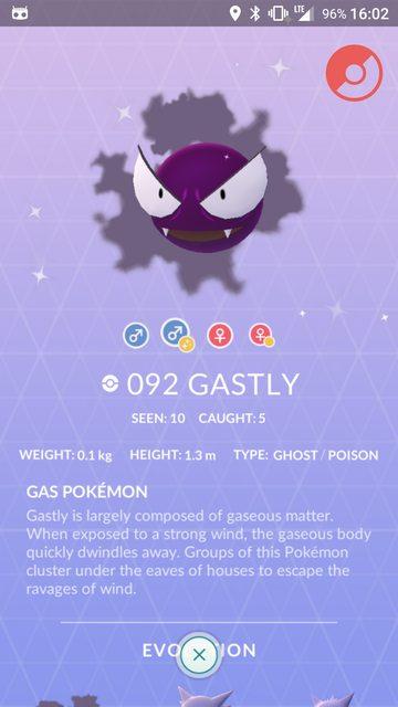 gastly cromatico