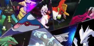 leggendari pokémon ultrasole e ultraluna