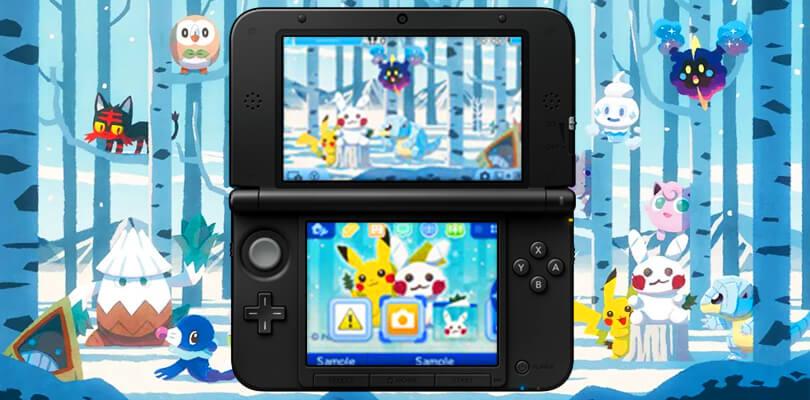 Disponibile in Giappone un nuovo tema Pokémon per la famiglia del Nintendo 3DS