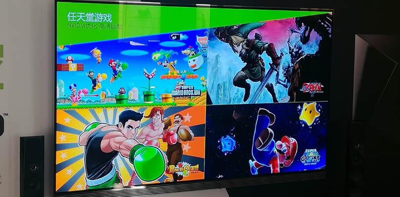 Nintendo porta i giochi Wii in HD sui dispositivi NVIDIA SHIELD in Cina