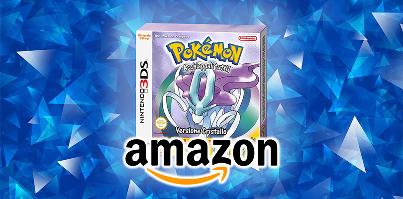 Pokémon Cristallo per Nintendo 3DS è ora preordinabile su Amazon