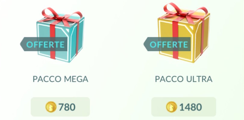 Arrivano nuove offerte speciali nel negozio di Pokémon GO
