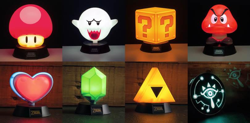 In arrivo delle splendide lampade 3D a tema Nintendo
