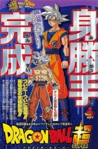 Artwork Ultra Istinto Completo per l'anime e il manga