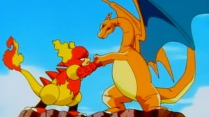 magmar vs charizard