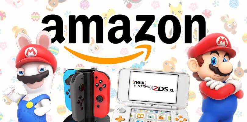 Mario + Rabbids Kingdom Battle, New Nintendo 2DS XL e molto altro in offerta su Amazon