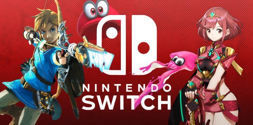 Nintendo Switch e i suoi giochi in offerta in occasione del 1° anniversario