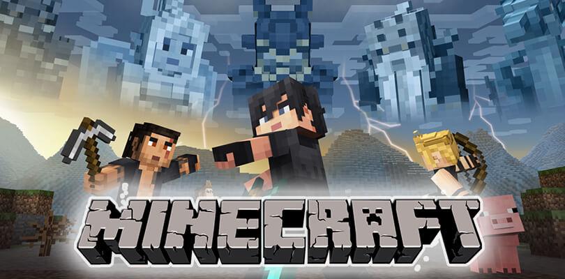 Minecraft per Nintendo Switch e Wii U: disponibili le skin di Final Fantasy XV