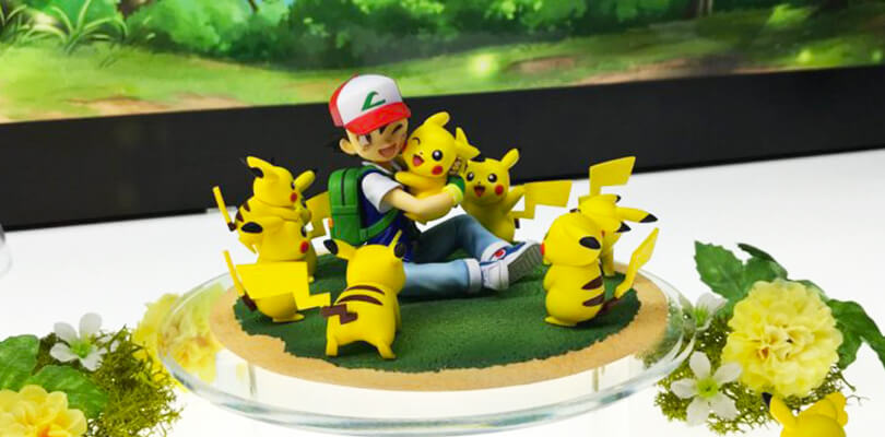 Nuove figure Pokémon presentate al Mega Hobby Expo