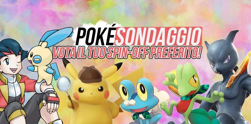 PokéSondaggio: Qual è lo spin-off che preferite della serie Pokémon?