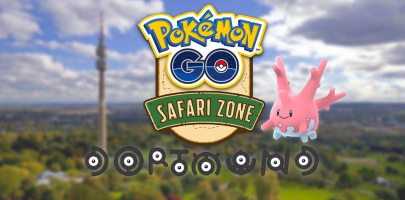 Corsola e 7 forme di Unown saranno disponibili nella Pokémon GO Safari Zone di Dortmund