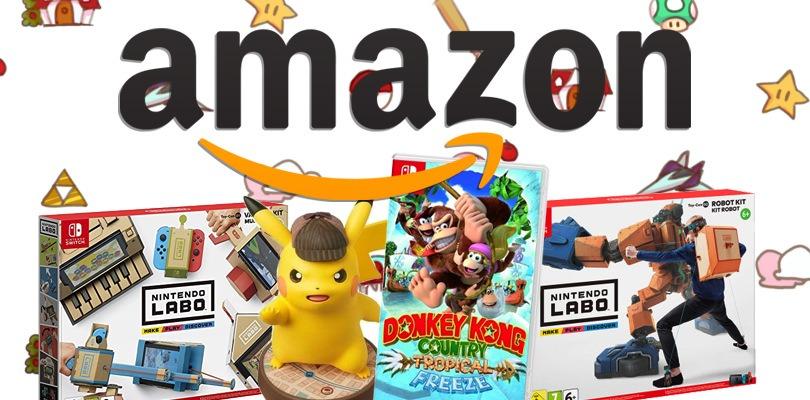 Nintendo Labo, Donkey Kong e molto altro tra le offerte settimanali di Amazon