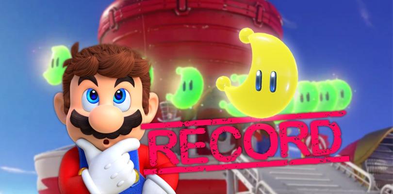 [VIDEO] Segnato un nuovo record per Super Mario Odyssey: tutte le 880 lune uniche raccolte in 8 ore e 16 minuti