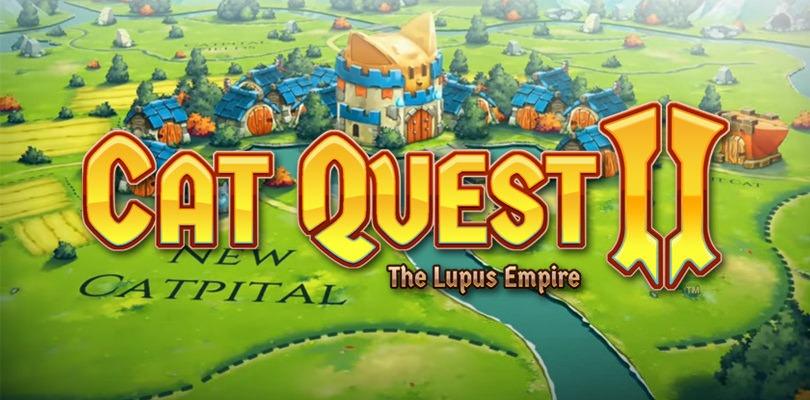 Primo trailer per Cat Quest II e edizione fisica in arrivo per Cat Quest