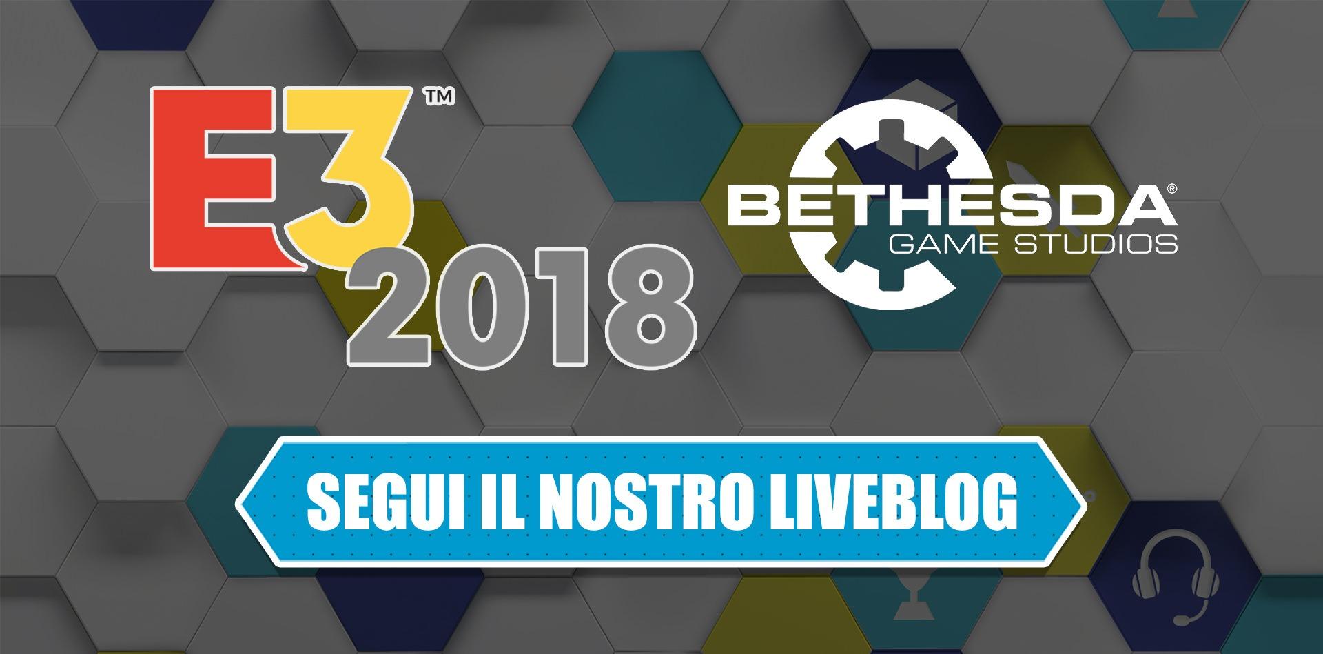 E3 2018: segui il liveblog della conferenza Bethesda l'11 giugno dalle 3.30
