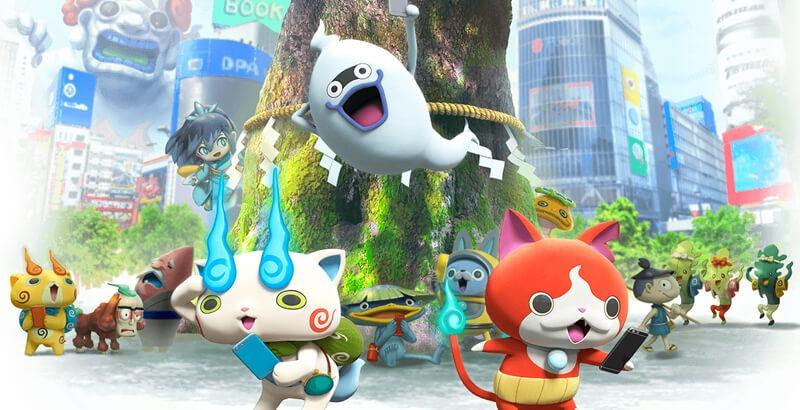 Arriva Yo-Kai Watch World, il Pokémon GO degli Yo-Kai