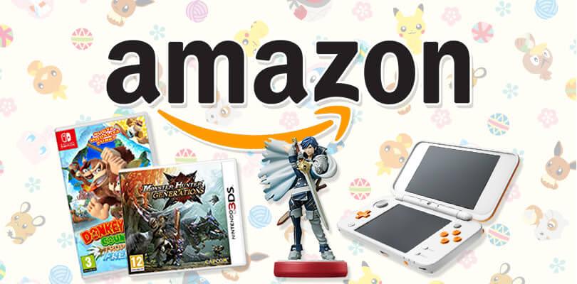 New Nintendo 2DS XL, Xenoblade Chronicles 2 e molto altro in offerta su Amazon
