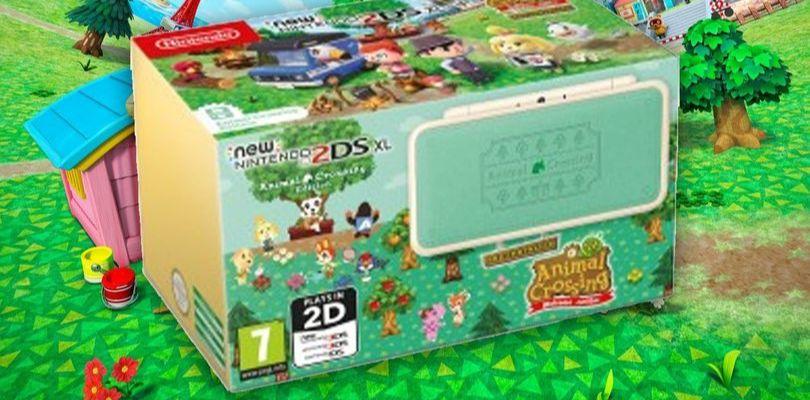Svelato il New Nintendo 2DS XL Animal Crossing Edition