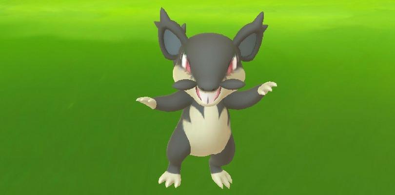 Appare Rattata Forma Alola selvatico in Pokémon GO
