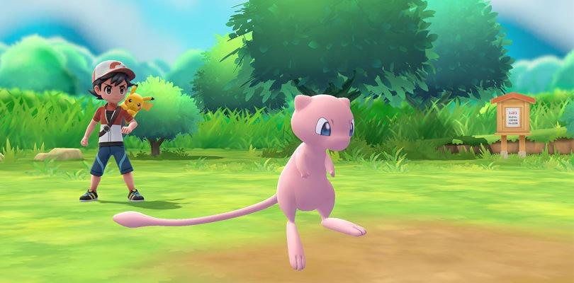 Mew non potrà essere trasferito da Pokémon GO a Pokémon: Let's Go