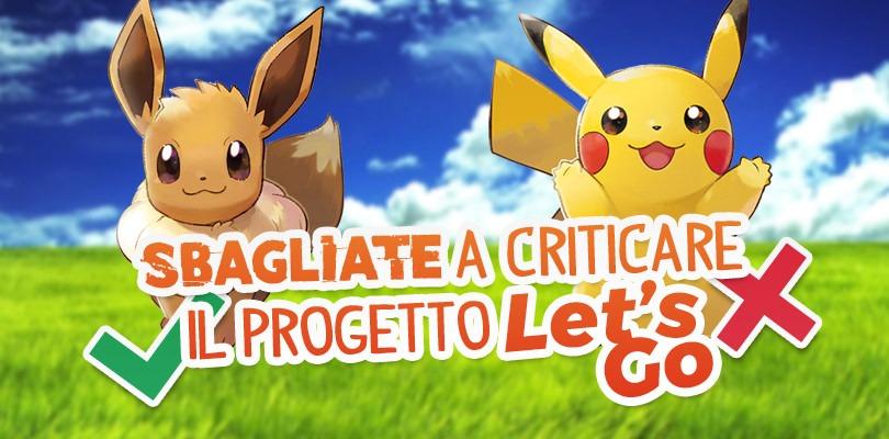 Sbagliate a criticare il progetto Let's Go
