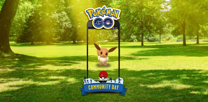 Eevee sarà il protagonista del Pokémon GO Community Day di agosto