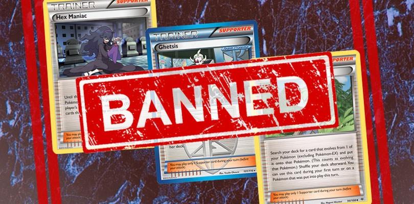 Annunciate nuove carte bannate dal Formato esteso del GCC Pokémon
